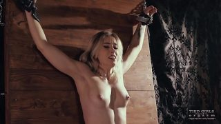 Tied girls forced to orgasm