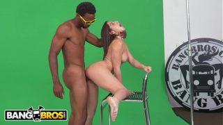 BANGBROS – Abella Danger Struggles To Act Then Takes A Big Black Dick