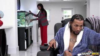 BANGBROS – Aidra Fox's Interracial Fuck Scene on Monsters of Cock